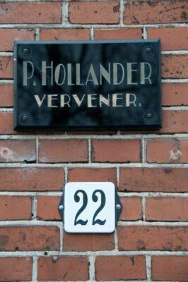 Pieter Hollander, schoonzoon van Freerk Kamst, was ook vervener.