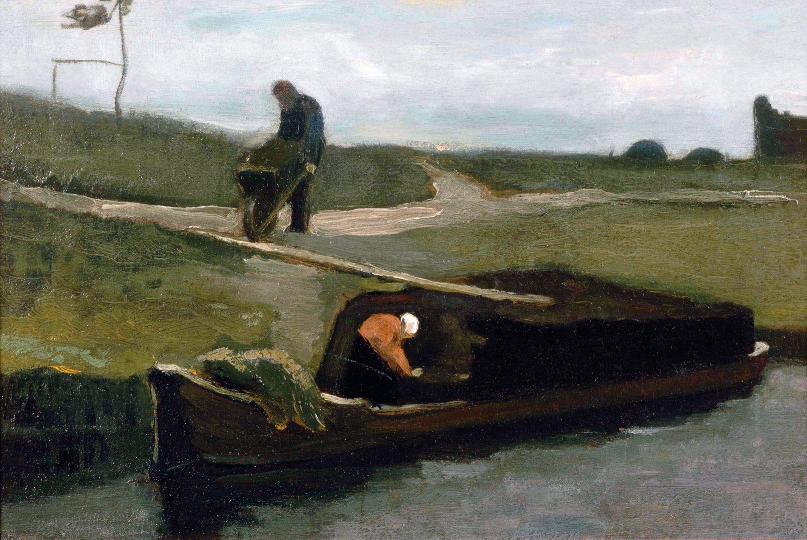 Schilderij van Van Gogh uit zijn Drentse periode, 1883
